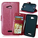 [Brown] Sony Xperia E4g Case,Xperia E4g Cover,E4g Case,Sony E4g Wallet Case,M.Jvisun [ID Window] [Photo Slot] PU Synthetic Leather [3 Card Pocket] Stand Feature Magnetic Flip Skin For Sony Xperia E4g