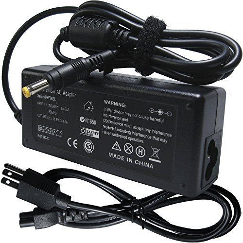 Laptop 18.5v 3.5a Ac Adapter Charger Power Cord Supply fo...