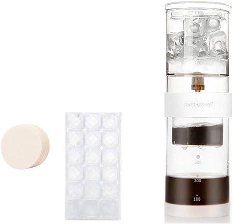 LARRY SHELL Cafetera Helada con Tapa hermética, sin BPA, Apta para ...