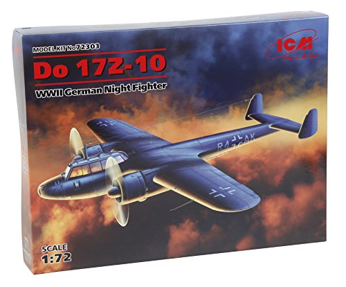 Night Fighter Kit - ICM Models Do 17Z-10 WWII German Night Fighter