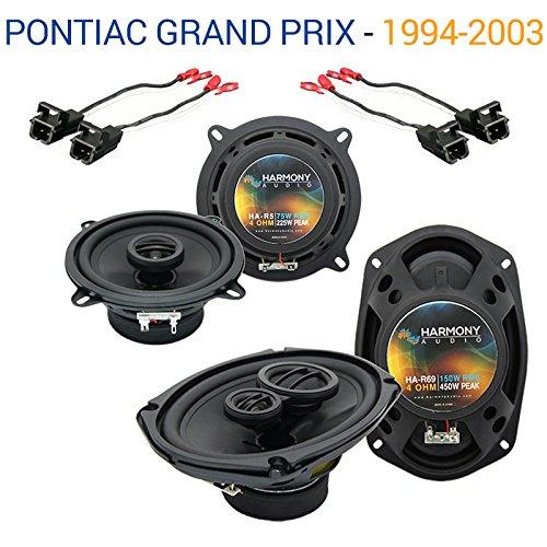 Fits Pontiac Grand Prix 1994-2003 OEM Speaker Upgrade Harmony R5 R69 Package - Grand Prix Speakers Pontiac