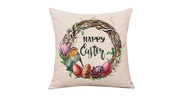 SO-buts - Fundas para cojín, diseño de Conejo de Pascua, a ...