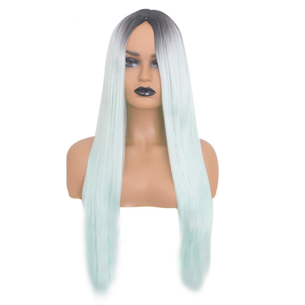 Hair Extensions & Wigs Mapofbeauty Long Loose Wave Light Dark Brown Black 75cm Women Wigs Cosplay Ladys Heat Resistant Synthetic Full Hair Always Buy Good