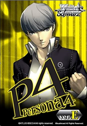 Weiss Schwarz TCG Card Game PERSONA 4 ver E. English Weiss/Weib Booster Box - 20 packs with 8 cards each