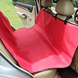 BBDOGO Dog Car Seat Cover Large Back Seat Cushion with Seat Anchors for Cars Waterproof Scratch Proof Nonslip Durable Washable (CW009)
