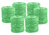 Black Duck Brand Set of 6 Spools of Green All Purpose Twine - 246ft per Spool - Perfect for Crafting, Art Projects, DIY Projects, and More!