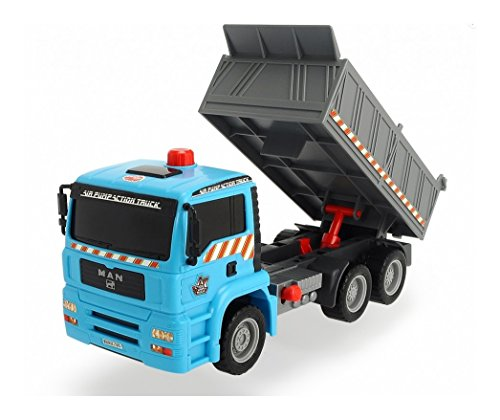 Dickie Toys Air Pump Action Dump Truck, 11""