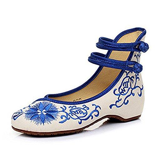 一晩アリ曲げるひまわりの新しい女性の刺繍靴Espadrillesのキャンバスフラット通気性のファッションと快適なウォーキングダンスシューズ