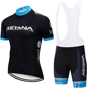 ZHLCYCL Ropa Ciclismo y Pantalones Equipación de Ciclista con 5D ...