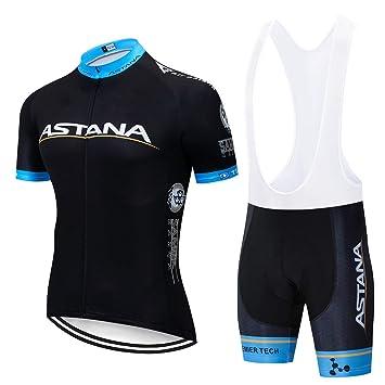 ZHLCYCL Ropa Ciclismo y Pantalones Equipación de Ciclista con 5D Gel Pad para Verano Deportes al Aire Libre Ciclo Bicicleta: Amazon.es: Deportes y aire ...