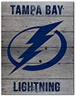"KH Sports Fan 16""x20"" Tampa Bay Lightning Road to Victory NHL Pallet Pride Plaque"