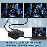 avedio links HDMI Splitter 1 in 2 Out, 4K HDMI