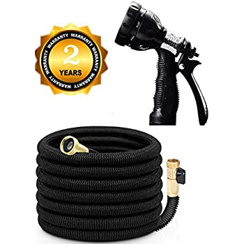 Amazon Com Aogoo 75ft Flexible Garden Hose 2018