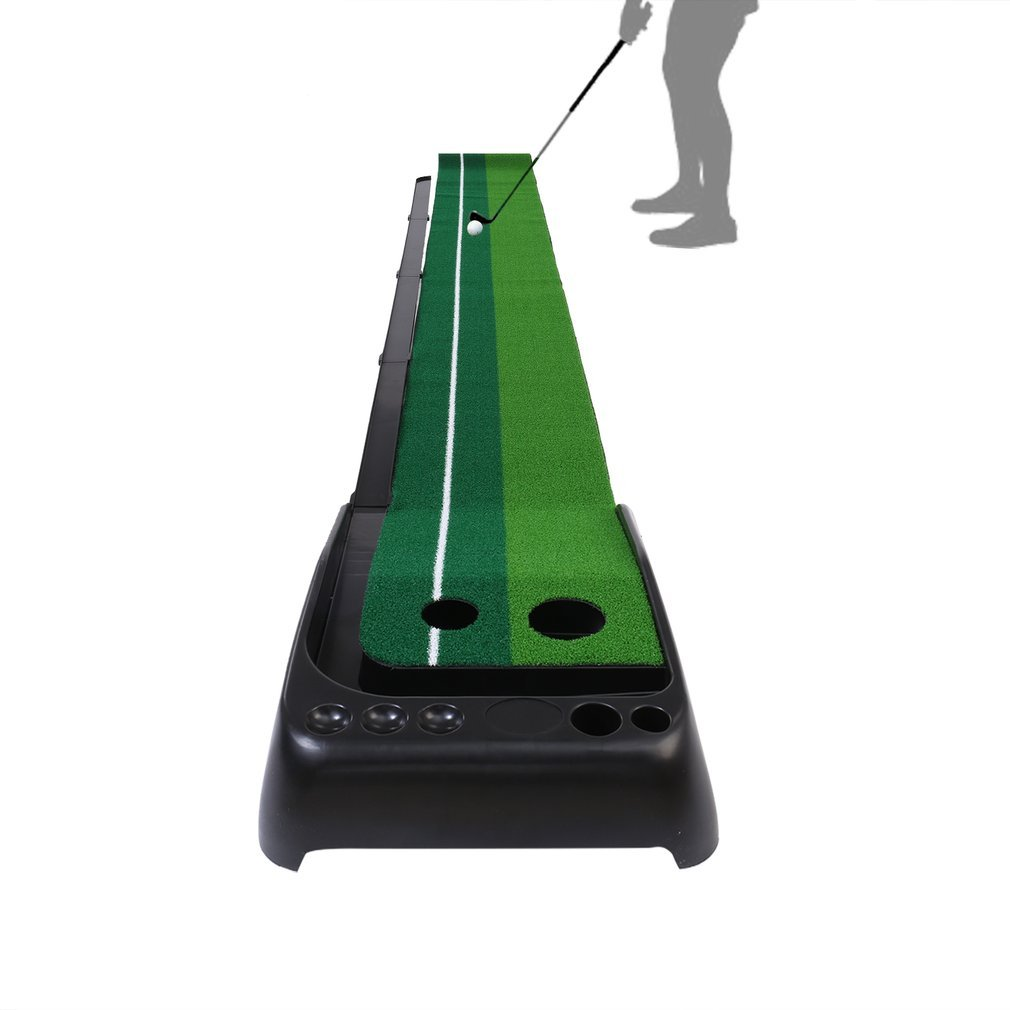 Golf Putting Mat, OUTAD Indoor / Outdoor Golf Putting Green With Auto Ball Return by OUTAD