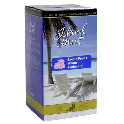 Exotic Fruits White Zinfandel (Island Mist) Ingredient Kit