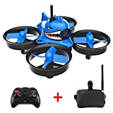 Yezijin Unmanned aerial vehicle, Helicopter, Shark Hunting 013pro 5.8G 40CH Mini FPV Racing Drone FPV Goggles
