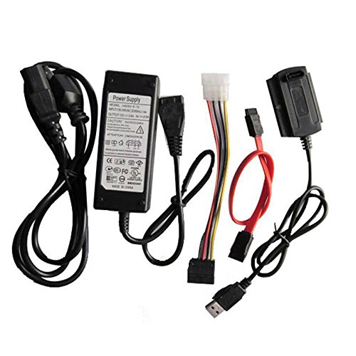 SANOXY 3 in 1 USB 2.0 To SATA/IDE Adapter Cable + Power Cord by SANOXY (Image #2)