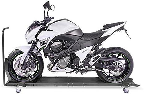 Constands Smart Mover Motorrad Rangierschiene Mit Wippe Bis 450 Kg Rangierhilfe Rangierwagen Grau Bis 450 Kg Rangierhilfe Rangierwagen Motorrad Auto
