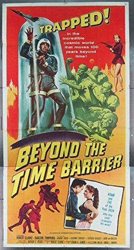 Beyond The Time Barrier Three Sheet Movie Poster