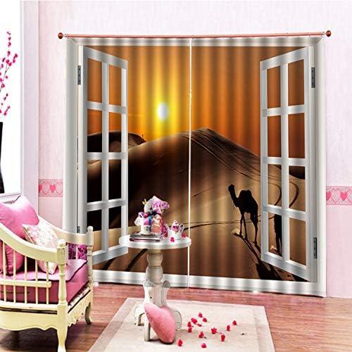 QinKingstore 現代遮光カーテンパネルウィンドウスクリーニングファッションドレープ170 * 200センチエレガントルーム装飾カーテン