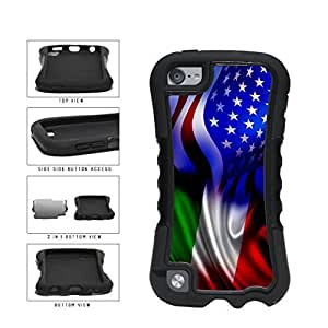 Italy and USA Mixed Flag 2-Piece Dual Layer Phone Case Back For SamSung Galaxy S5 Mini Case Cover Generation