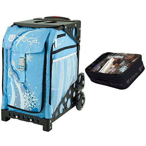 Zuca Wonderland Sport Insert Bag & Black Frame + Gift Utility Pouch by ZUCA