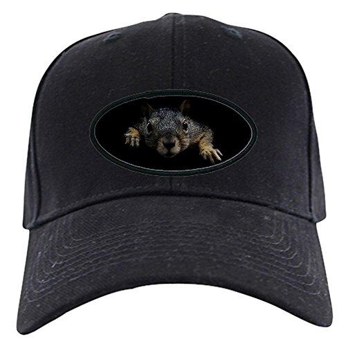 da24983de38f2 CafePress - Squirrel Black Cap - Baseball Hat