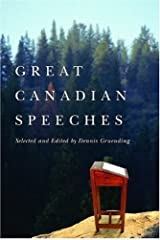 Great Canadian Speeches (2004-09-30) Hardcover