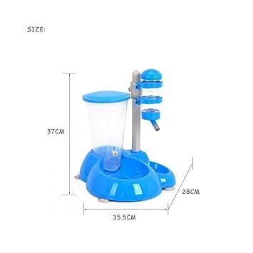 Automático Alimentador De Mascotas Y Comida Dispensador De Agua Y Riego Alimentador De Mascotas con Comida