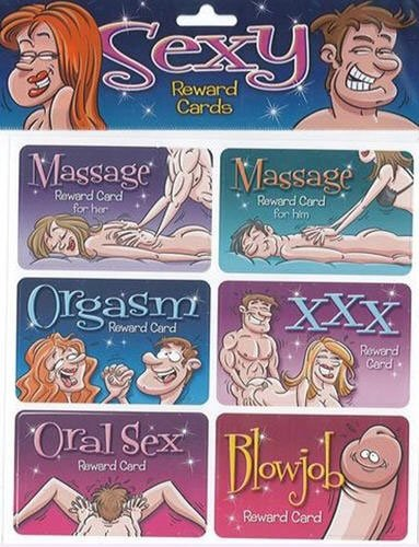 Sexy Reward Cards, Health Care Stuffs