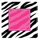 Zebra Square Dessert Plates Party Accessory, Health Care Stuffs