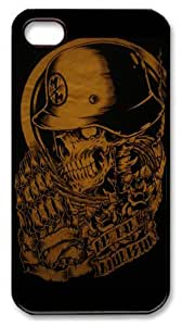 icasepersonalized Personalized Protective Case for iPhone 4/4S - Metal Mulisha by mcsharks