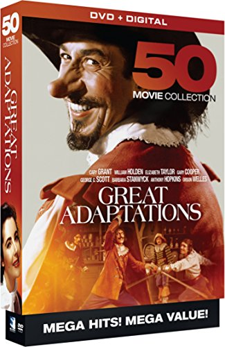 Great Adaptations - 50 Movie MegaPack (DVD + Digital)