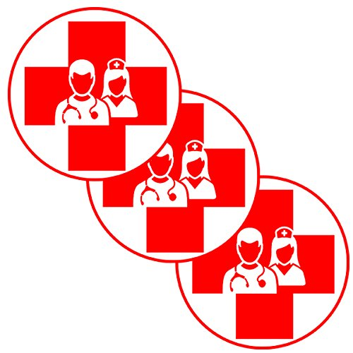 NURSE DECO FETTI (24 PIECE/PKG) (Nurse Party Decorations)