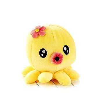 Amazon Com 7 Cute Claw Fish Octopus Baby Plush Toys Stuffed Doll