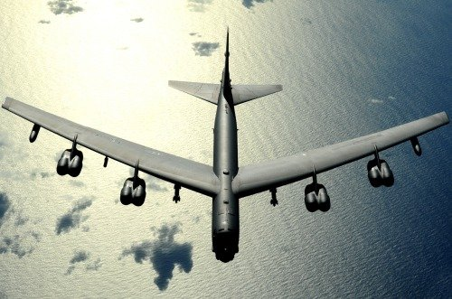 ConversationPrints B-52 BOMBER JET GLOSSY POSTER PICTURE PHOTO BANNER stratofortress american