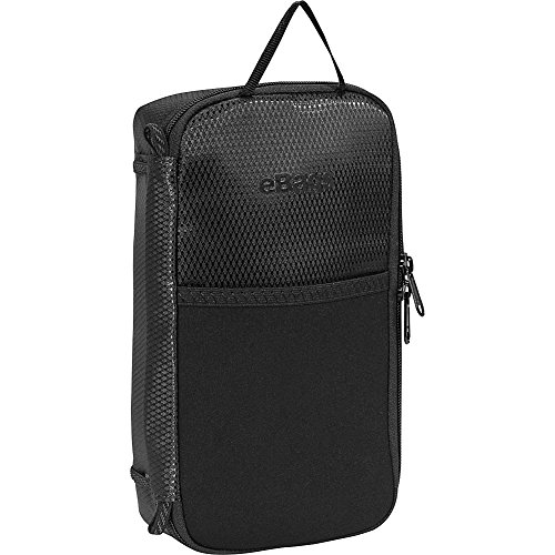 eBags Large Cord Packing Cube - Cable Organizer Bag - (Black)