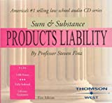 Sum and Substance Audio Set on Product Liability, Finz, Steven R., 0314166920