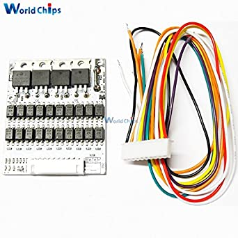 battery protection bms pcb board for 10 packs 36v li ion cell max rh amazon com Apc Wiring Diagram Taylor Dunn 36V Wiring-Diagram