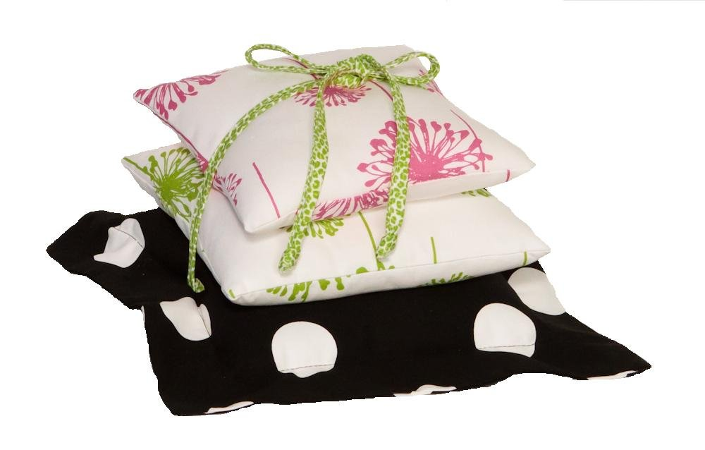 Cotton Tale Designs Hottsie Dottsie Pillow, 1-Pack HDPP