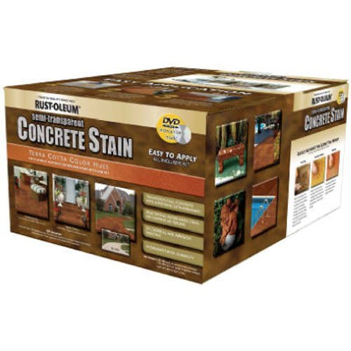 Rust-Oleum 239408A Concrete Stains Kit, Terra Cotta Color Hues (Kit Concrete Stain)