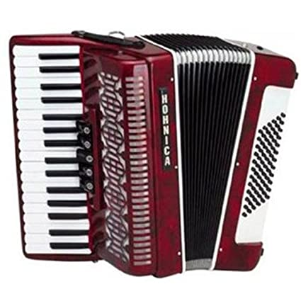 Amazon com: Hohner Hohnica Tremolo Piano Accordion 72 Bass
