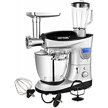 Amazon.Com: Cheftronic 4 In 1 Multifunction Kitchen Stand Mixer Sm