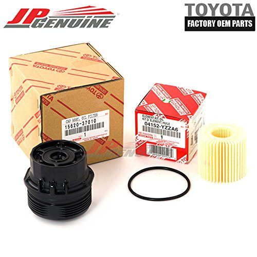 Genuine OEM Toyota Scion Oil Filter + Canister Cap 15620-37010 04152-Yzza6