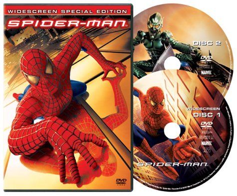 Spider-Man dvd cover (2002) R2 German
