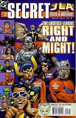 JLA Secret Files #2 FN ; DC comic (Jla Trophy Room)