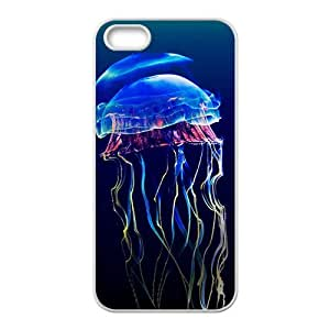 The Shining Jellyfish Hight Quality Plastic Case for Iphone 5s by lolosakes
