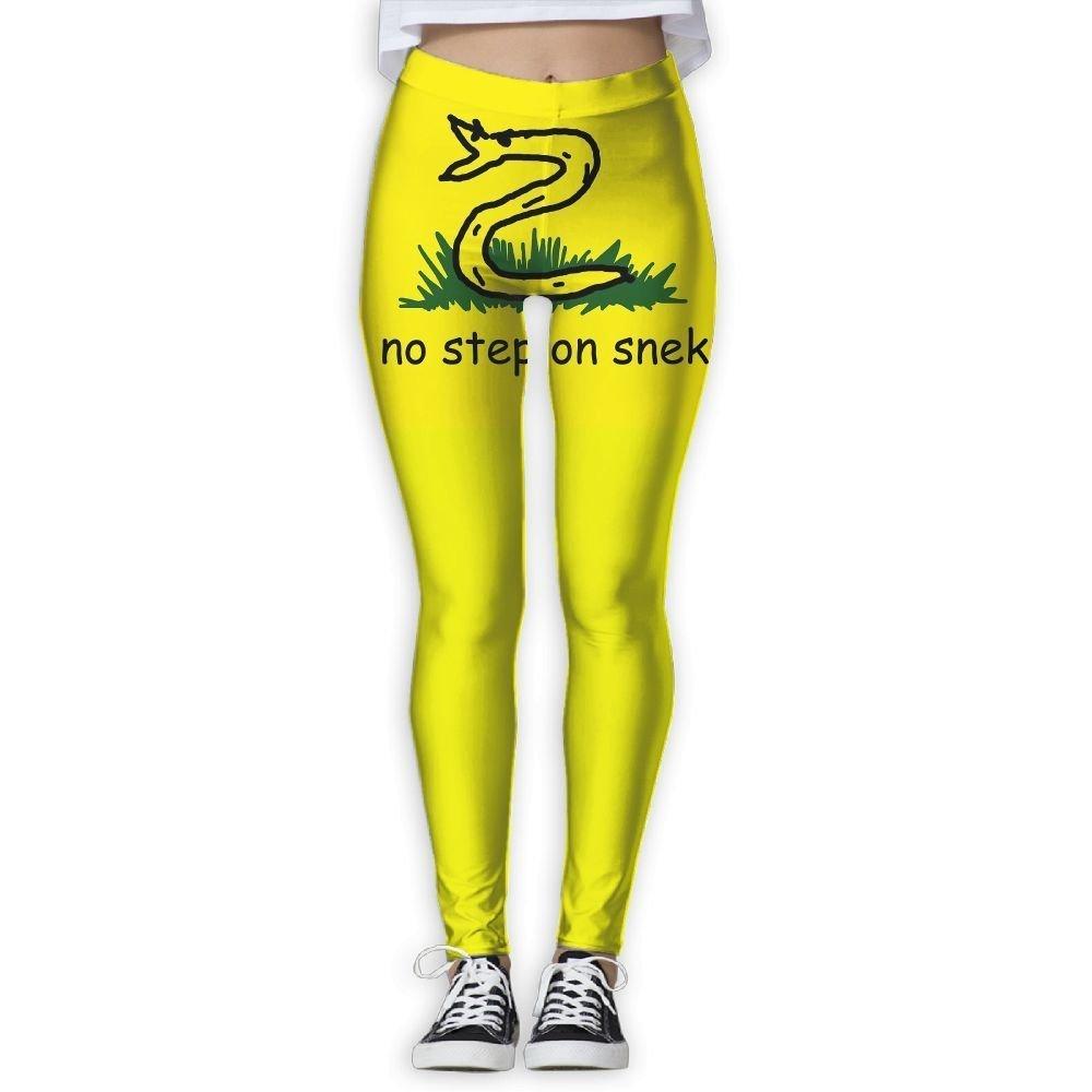 Amazon.com: No Step On Snek Women 3D Design Yoga Pants ...