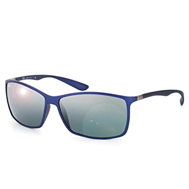 32581cd267b Ray-Ban RB 4179 6015-88 62 Mens Liteforce Grey Lens Blue Frame Sunglass   Amazon.co.uk  Clothing
