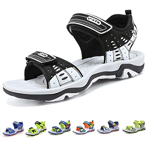 Elaphurus Kids Sports Sandals Summer Outdoor Open Toe Beach Sandals Water Shoes for Boys Girls